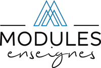 Logo modules enseignes