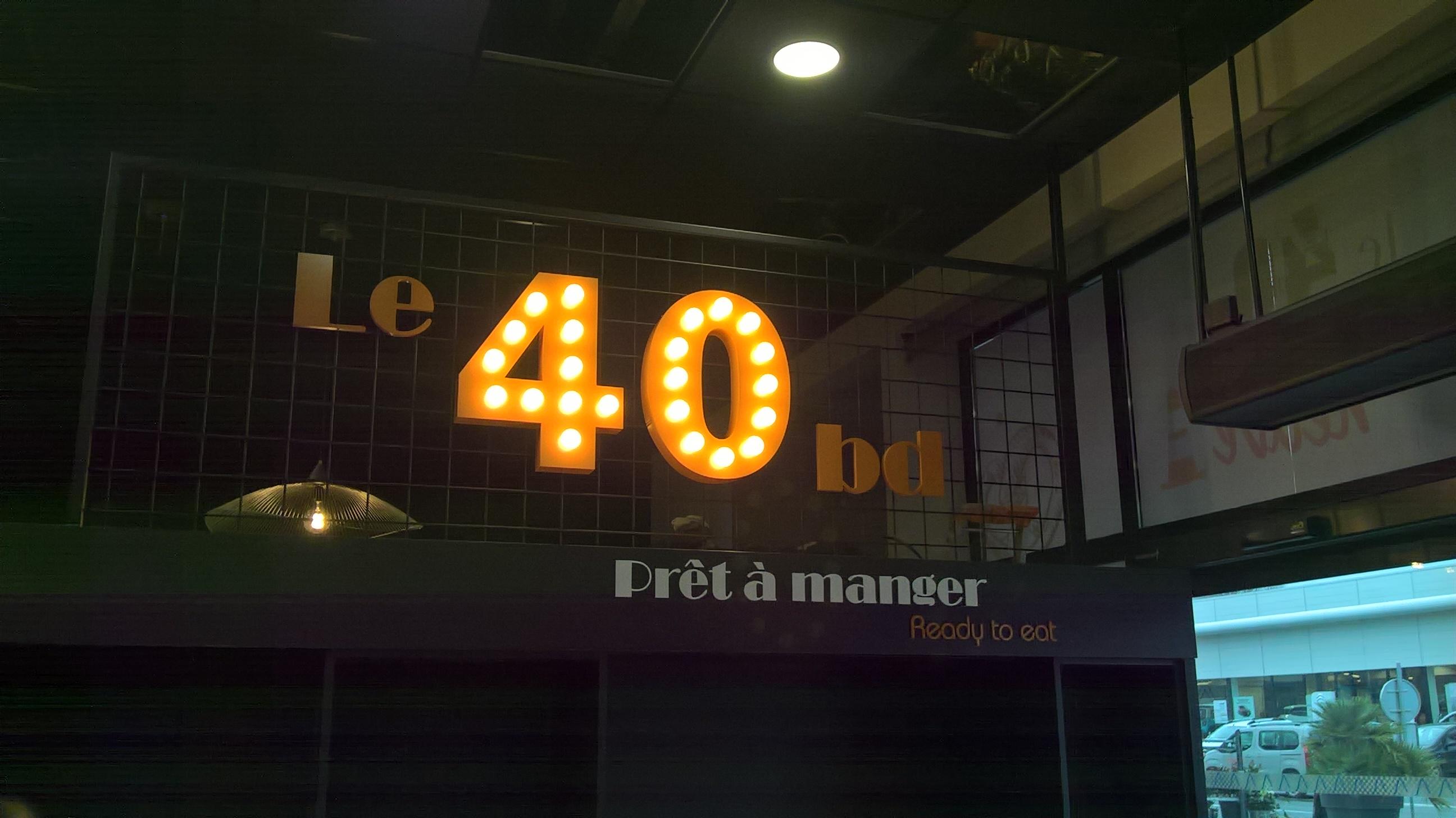 Le 40 BD